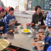郷土料理教室を実施しました。