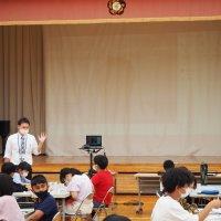 6年生授業参観 理科「地層のでき方」
