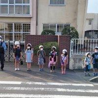 五霞西小学校の朝